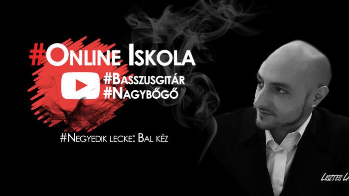 Zeneiskola Online - Bal kéz