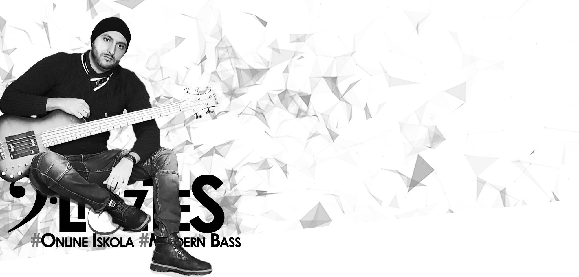 Lisztes Modern Bass - Basszusgitár